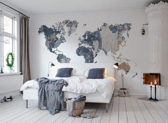 Lee más sobre el artículo ¡Atrévete a poner decoración mural con mapas!