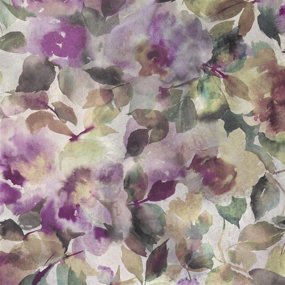 Papel pintado floral Designers Guild