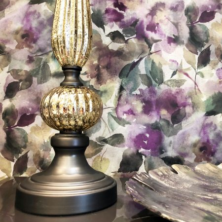 Papel pintado de estampado floral