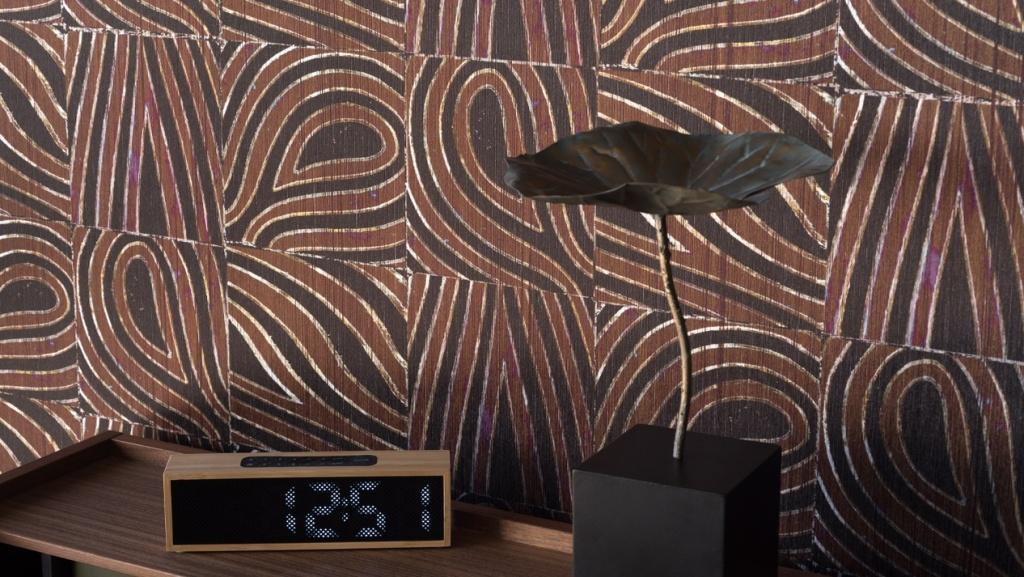 Papel pintado años setenta