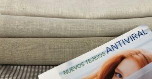 Tejido antiviral para cortinas