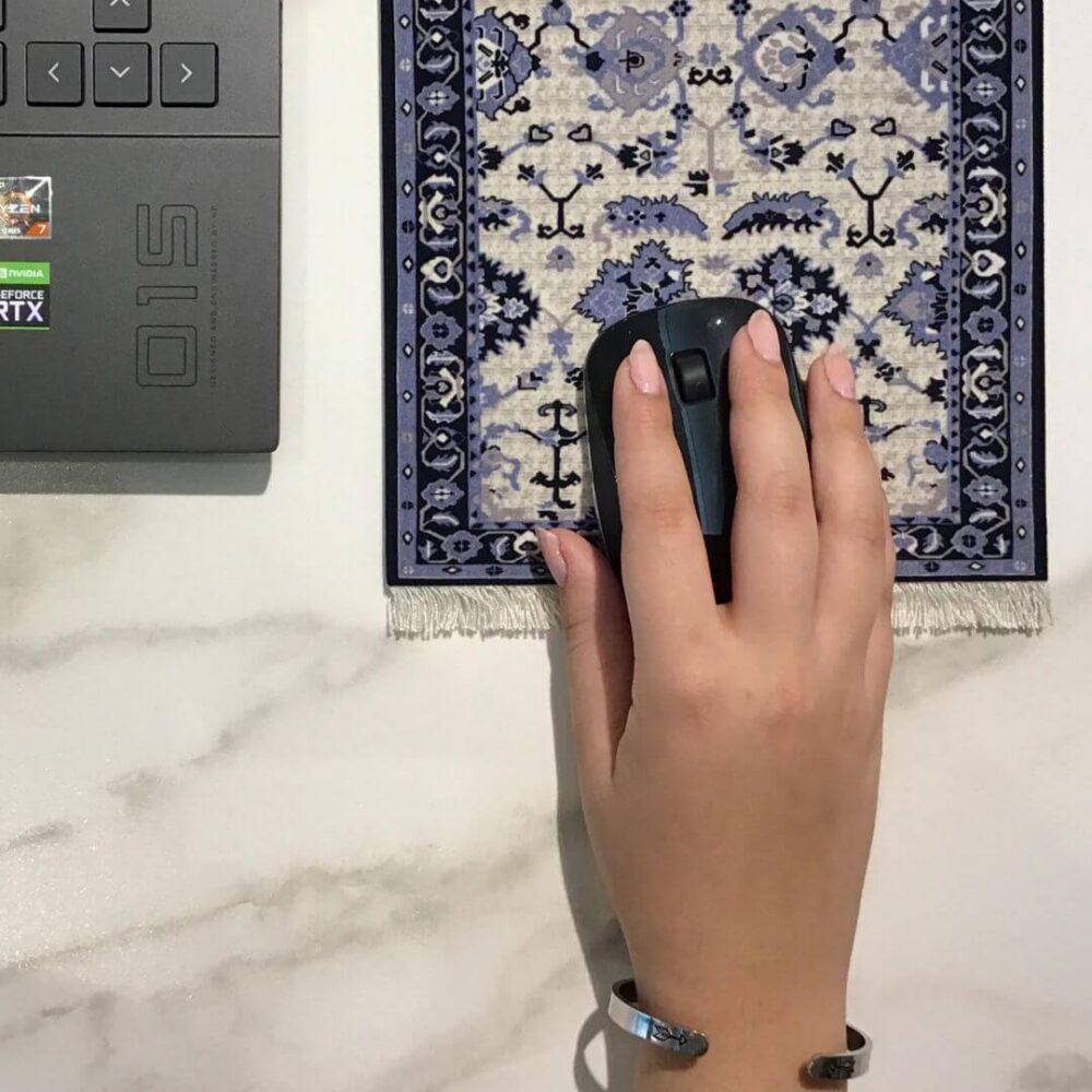 alfombrilla de ratón estilo persa
