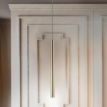 Lámpara Vara de techo sencilla