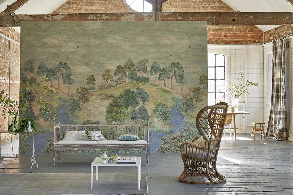 Mural panorámico Bandipur Sky de Designers Guild